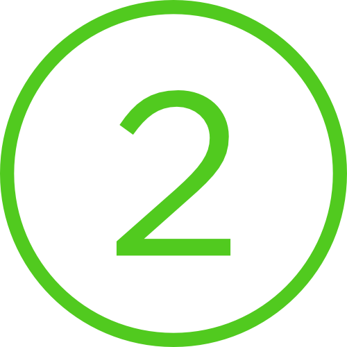 2 in circle