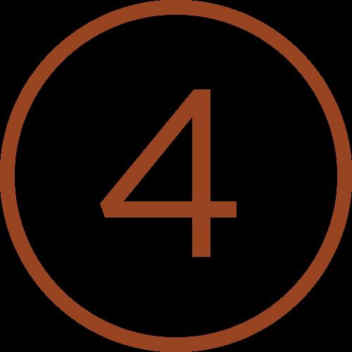 4 in circle